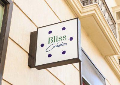Identité de marque Bliss Création