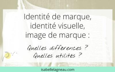Identité de marque, identité visuelle & image de marque
