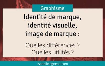 Identité de marque, identité visuelle, image de marque : Quelles différences ? Quelles utilités ?