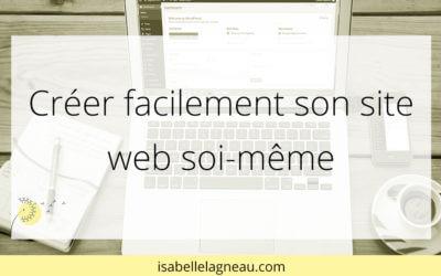 Créer facilement son site web soi-même
