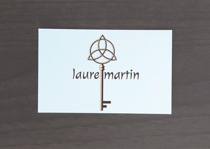 Laure Martin : Logo et charte graphique