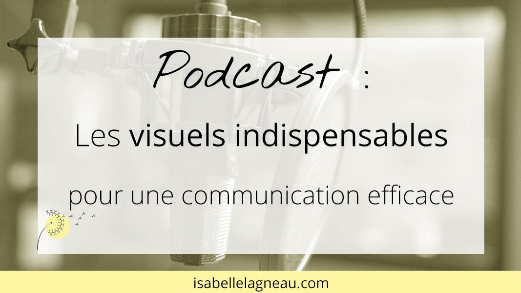 Podcast : les visuels indispensables pour une communication efficace